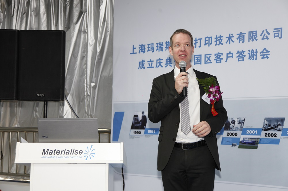 Materialise slaat de vleugels uit in China
