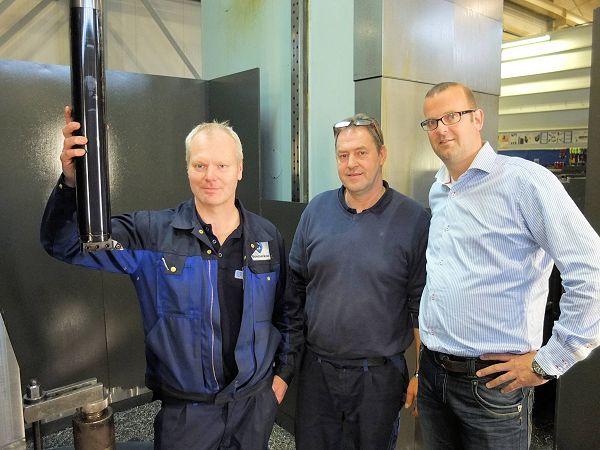 Boessenkool gebruikt trillingsgedempte boorbaar van 1400 mm