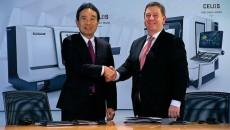 De beide topmannen van het concern, dat nu volledig opgaat in DMG Mori Seiki Co Ltd. (Foto: DMG Mori Seiki)