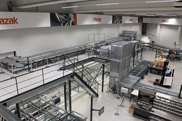 Nieuw magazijn Mazak onderdelen illustreert groeiambities