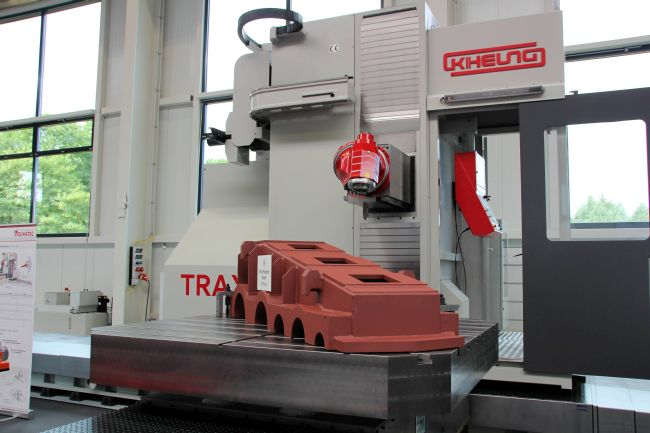 Kiheung Trax: nieuw type floortype freesmachine