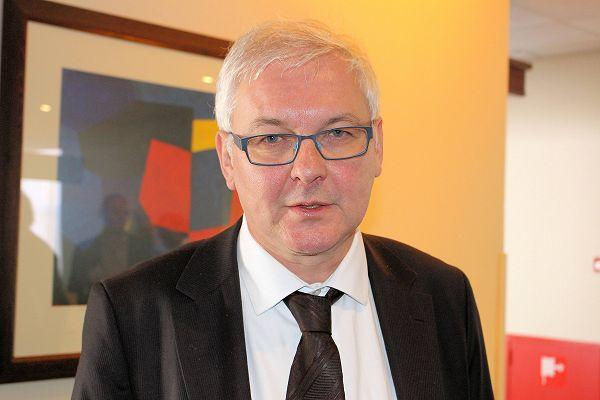 Fried Vancraen, CEO van Materialise: sterke kennispositie in metaalprinten opgebouwd.