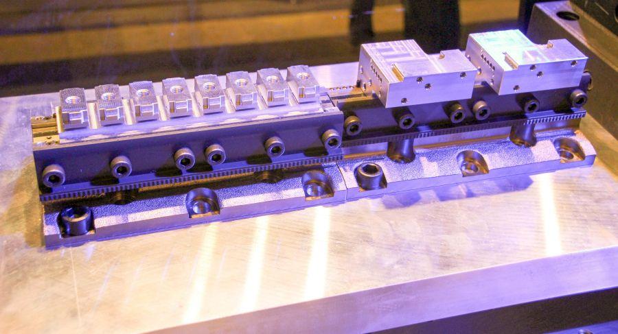 Bokhoven BMT liet het nieuwe Swisclamp systeem van Lehmann zien.