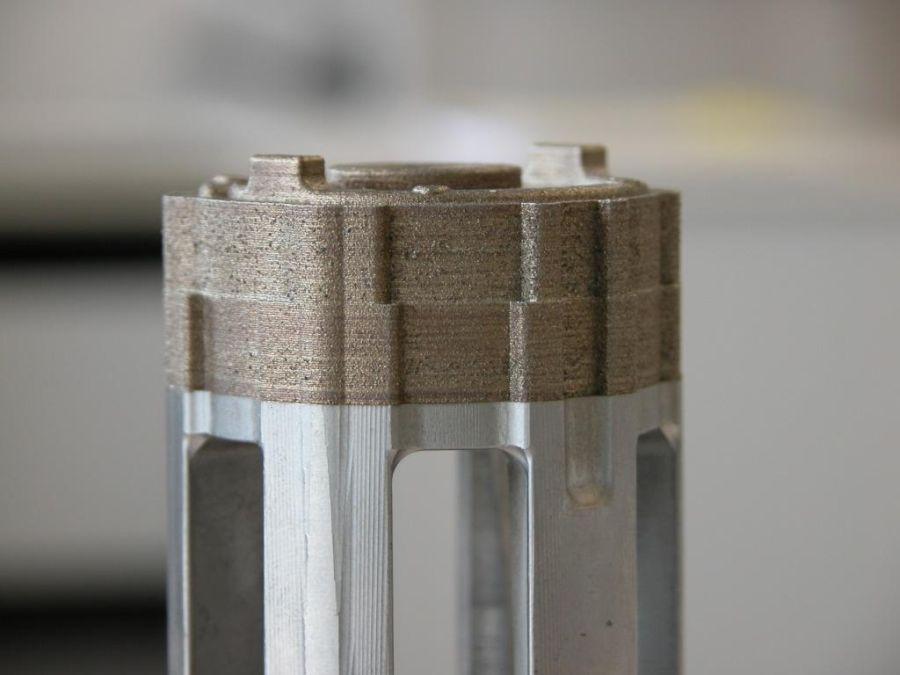 Combinatie additieve en conventionele productie next step productontwikkeling