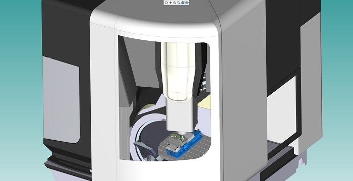 DMG Mori biedt Esprit aan bij machine