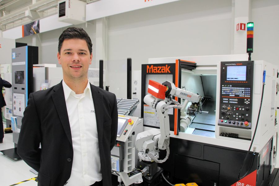 Duitse Mazak-dealers kiezen RoboJob als preferred supplier