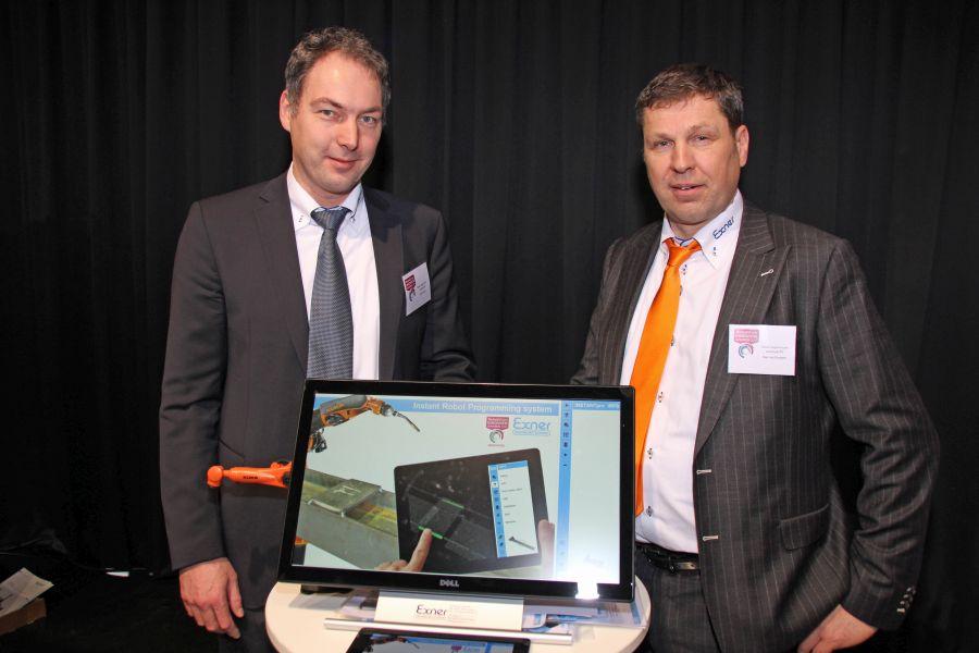 Instantpro IPRS: lasercamera en database programmeren robot