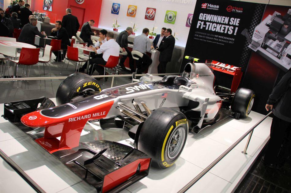 Haas F1 debuut in Barcelona en Düsseldorf