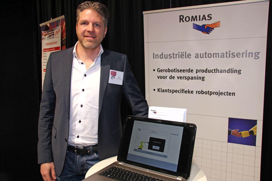 Minder stilstand dankzij slimme Romias MI robotbesturing