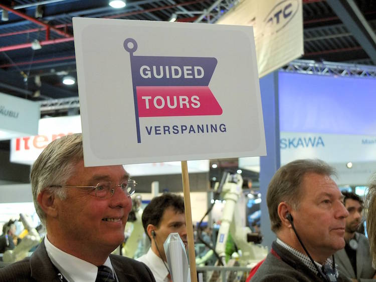 TechniShow 2016: vier guided tours verspaning en dagelijkse 3D tour