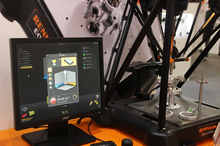 Wereldprimeur op TechniShow: Renishaw Intuo software