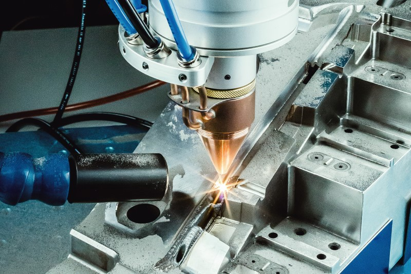 O.R. Lasertechnologie maakt van lasercladding installatie 3D metaalprinter