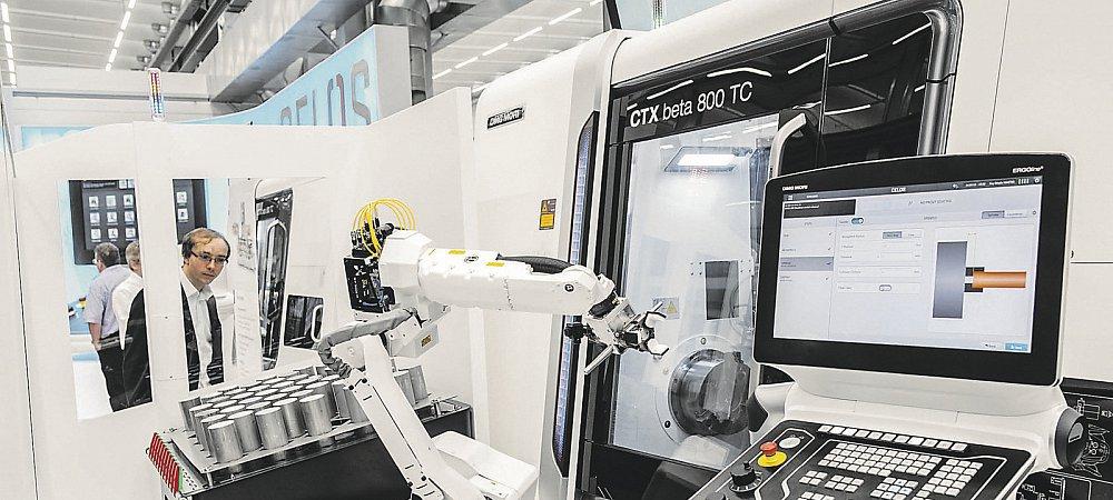 Robo2Go is een automatiseringsoplossing die geen speciale robotkennis vergt. (Foto DMG Mori)