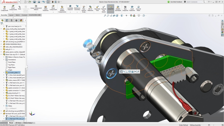 SolidWorks 2017: Internet of Things en virtual reality