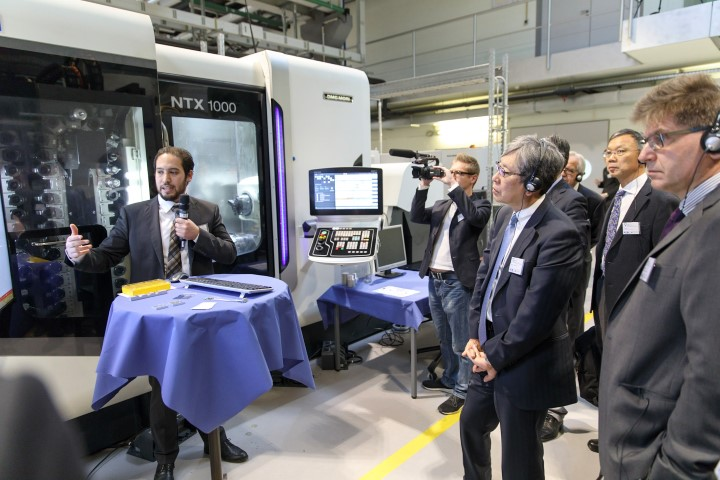 Hybride machines én procesbewaking dominante CNC trends