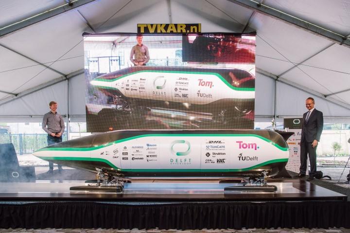 Delfts hyperloop succes met Phantom gereedschappen