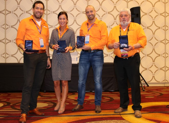 Cadmes wint 17 awards op Solidworks World