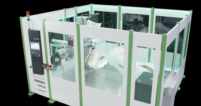 Cevotec Samba: software en robotcel voor 3D composietdelen