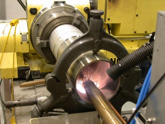 LCV start met high speed lasercladding