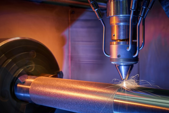 Fraunhofer prijs voor ultra high speed lasercladden met Nederlands tintje