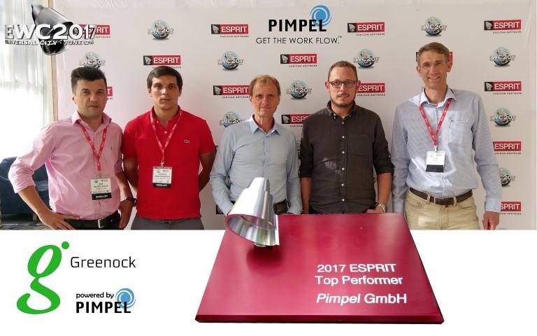 Pimpel wint voor 7e keer Esprit Top Performer Award