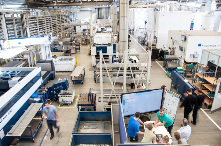 Trumpf neemt belang in precisie tracking specialist BeSpoon