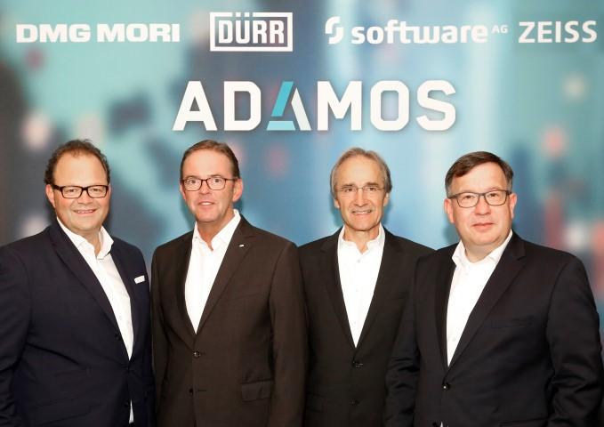DMG Mori start met partners Adamos IIoT platform