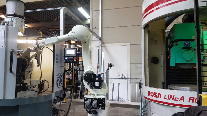 RFA toont flexibiliteit robot laadsysteem
