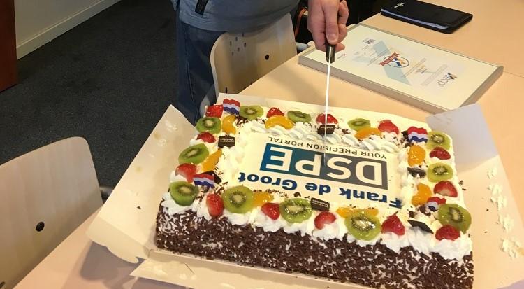 Frank de Groot (Tegema) 4e engineer met  Bronze ECP2 certificaat