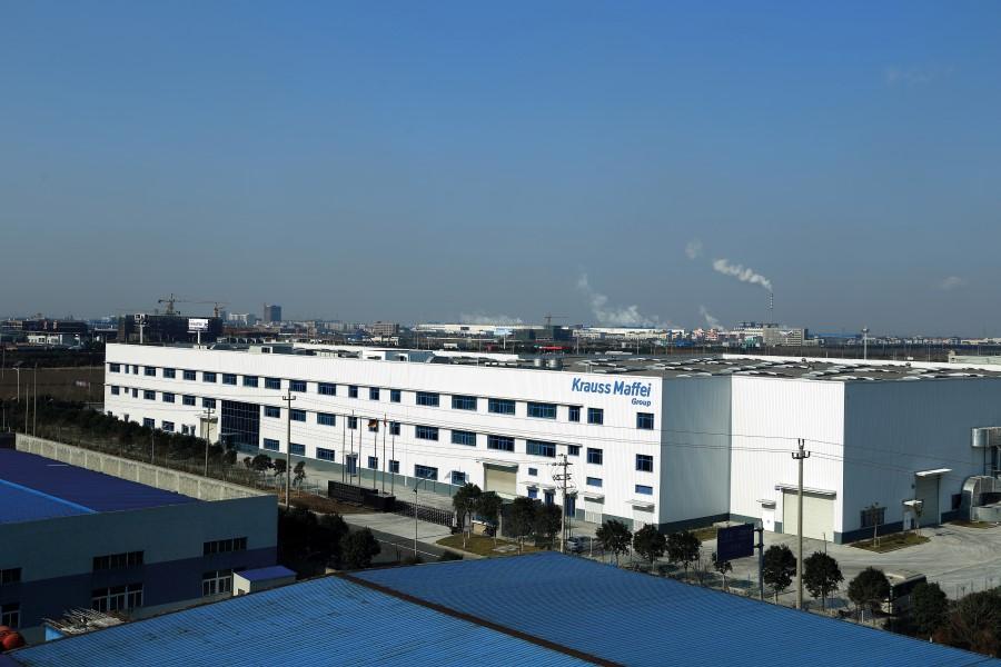 Duitse machinebouwer KraussMaffei naar beurs in Shanghai