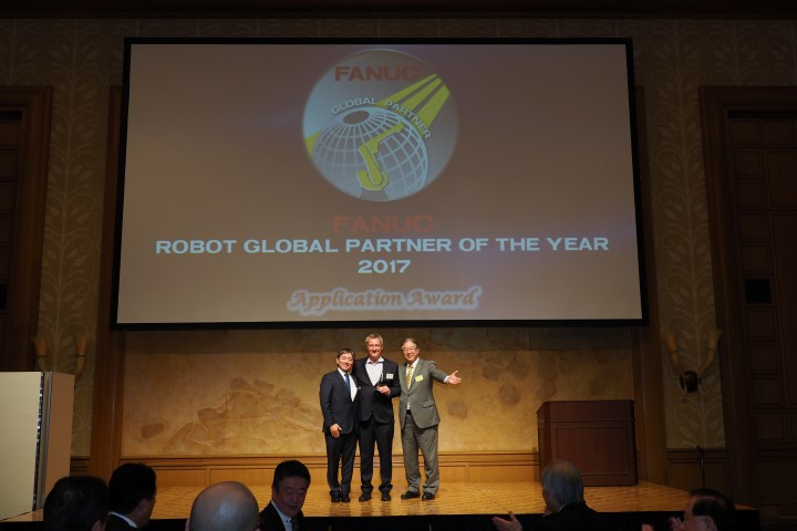Robojob wint Fanuc Application Award