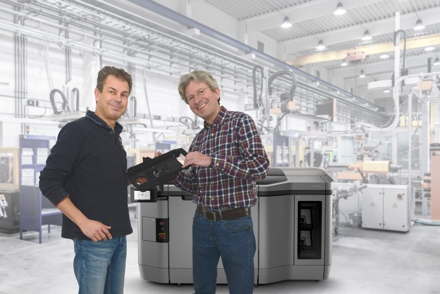 RP2Industrial start serieproductie op HP MJF 3D printer