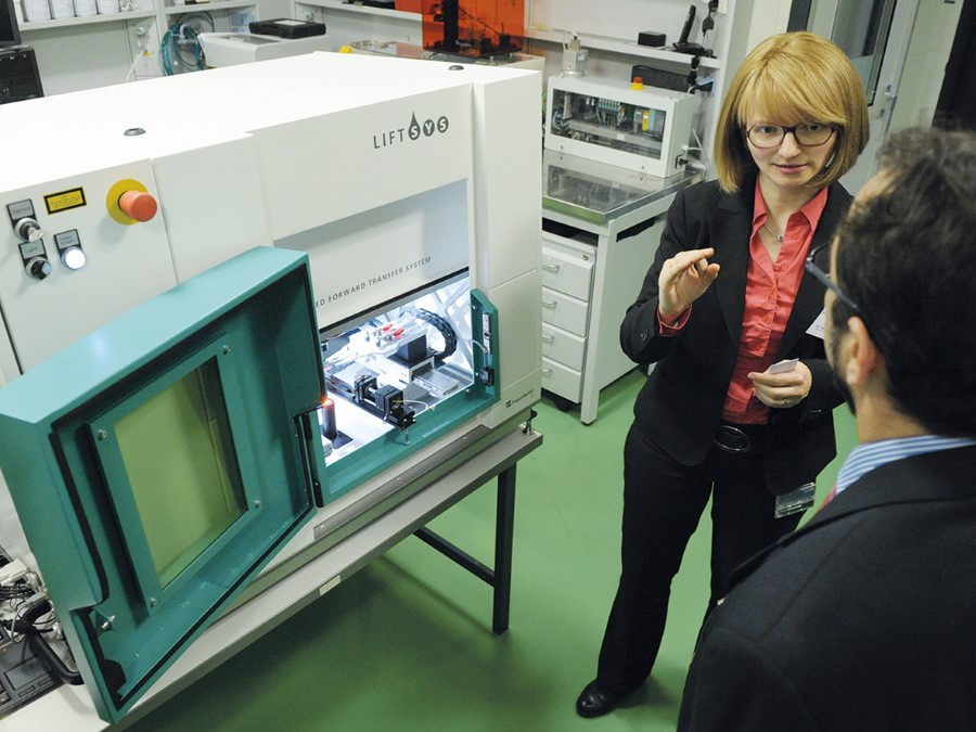 Fraunhofer ILT schaalt bewerken met ultrakorte puls laser op