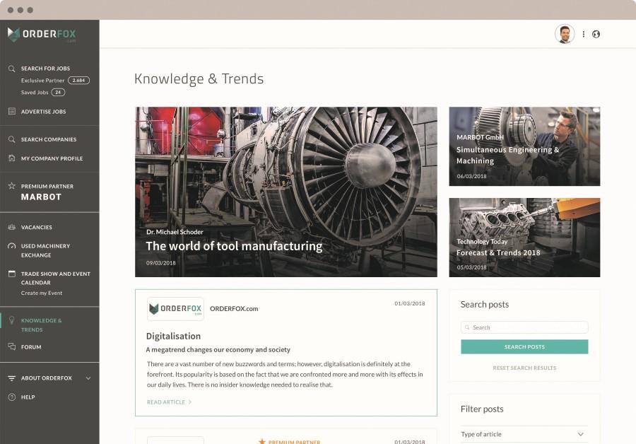 Orderfox.com breidt uit met Kennis & Trends sectie