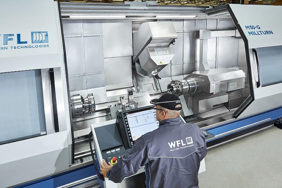 WFL lanceert vernieuwde M50 Millturn