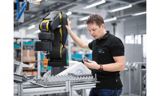 Festo laat mens en robot flexibeler samenwerken
