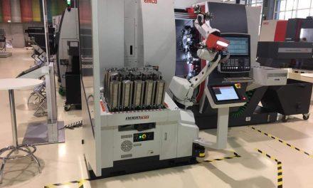 EMCO toont RoboJob Turn-Assist op EMO