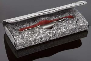 De opbergdoos, met tal van bijzondere details, is volledig 3D geprint.