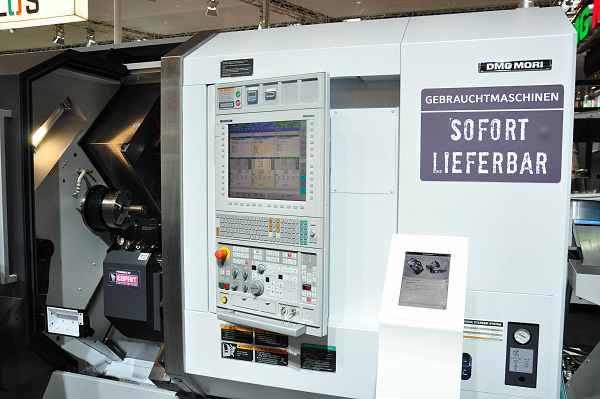 DMG Mori verkocht op de Metav niet alleen nieuwe machines, ook gebruikte.