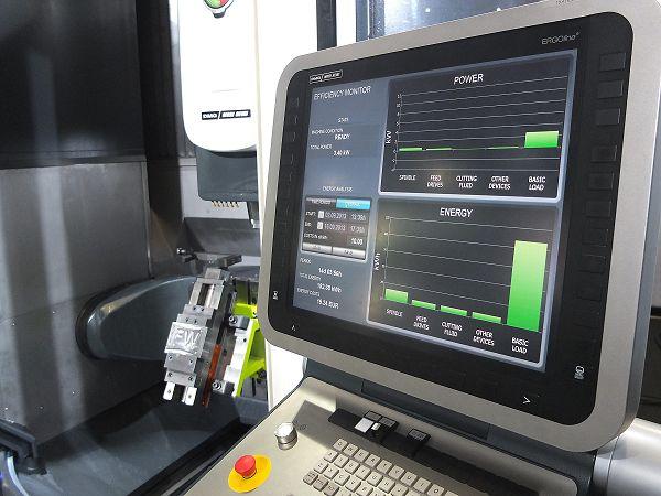 energiemonitoring CNC-machine