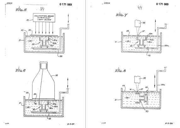 patent 3d printen